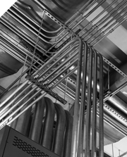 Industrial electrical conduit work